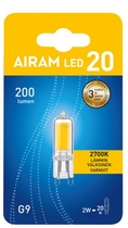 LED-LAMPPU AIRAM AD LED 2W/827 G9 PO
